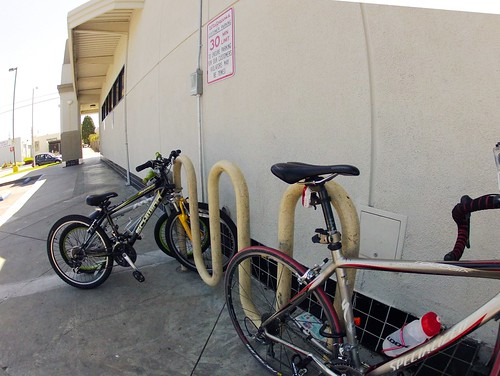 Walgreens bike parking
