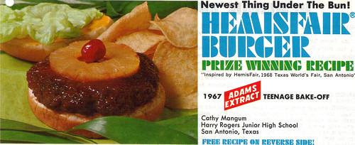 Hemisphere Burger