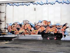 art, vehicle, mural, graffiti,