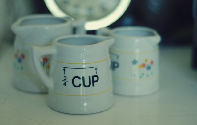 Vintage Measuring Cups.