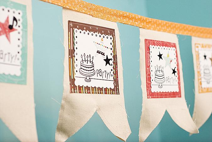 fiskars fuse birthday banner