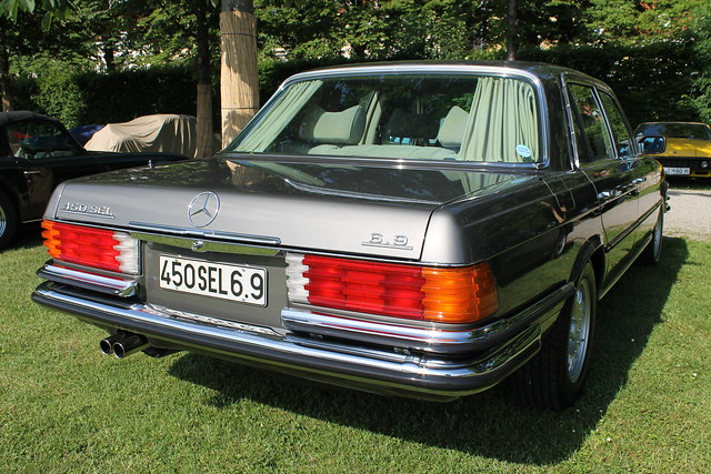 Mercedes benz 450 sel 6 9 a gallery on flickr for Mercedes benz 450 sel 6 9