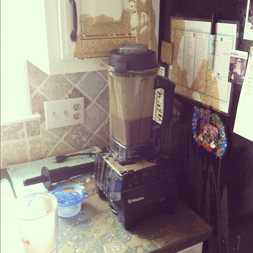 I'm hoping I'll laugh about this one day. #fail #vitamix #thatsagreensmoothie