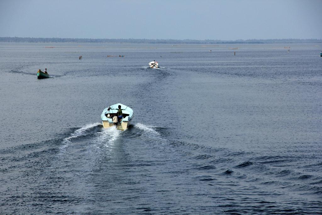 Cruising from island to island