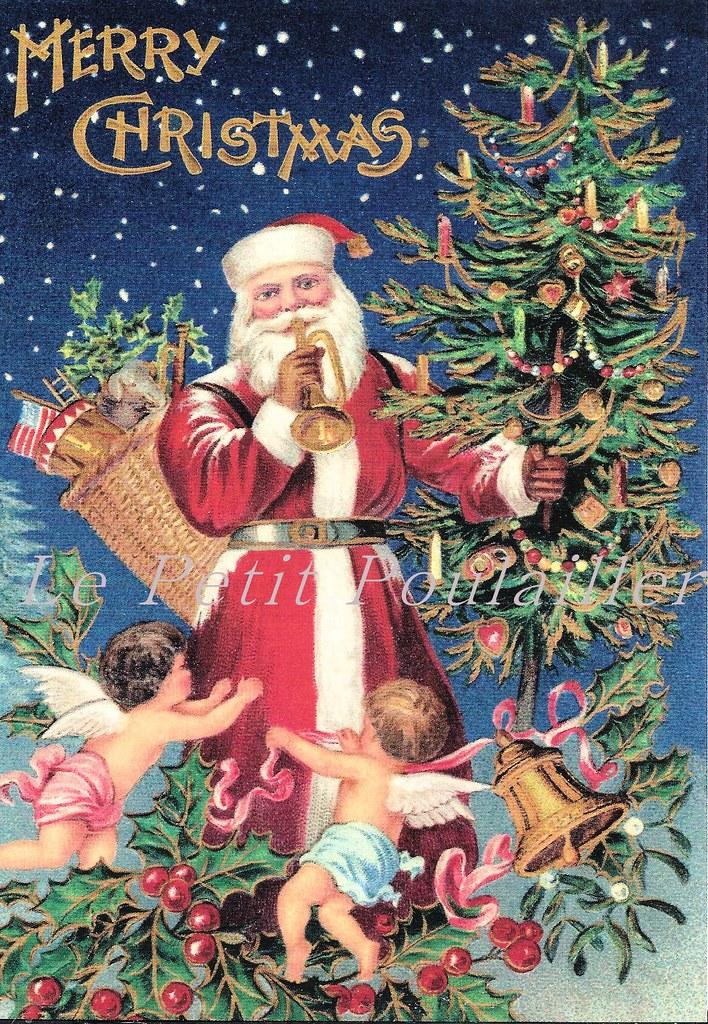LePetitPoulailler Merck Family Old World Christmas Post Card - a ...
