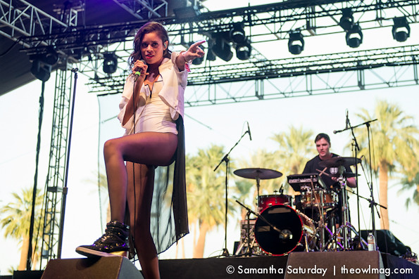 AlunaGeorge @ Coachella 2014 Weekend 2 - Sunday