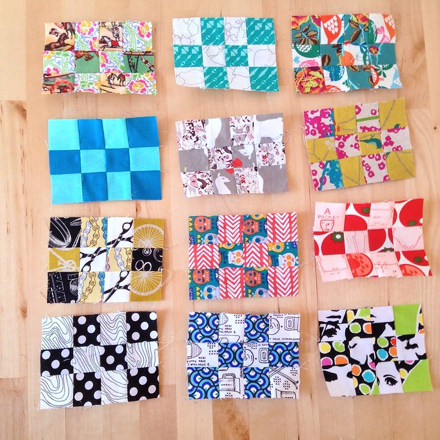 All 12 pack patch mini blocks.