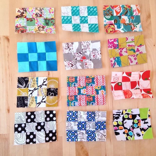 All 12 pack patch mini blocks.