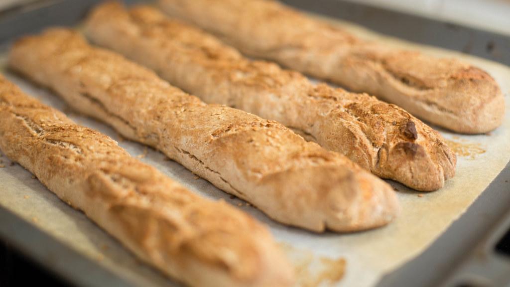 Handmade baguette - IMG_4278