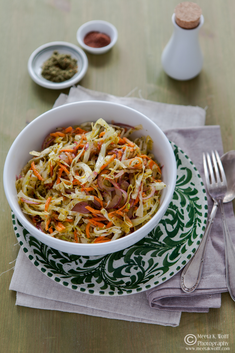 Lebanese Cabbage Salad (102)