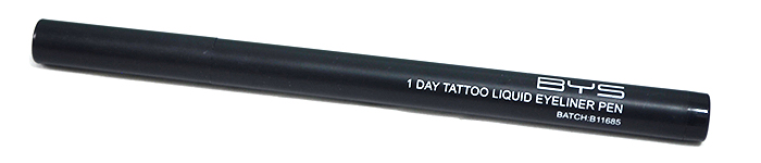 BYS 1 Day Tattoo Liquid Eyeliner Pen Product Review