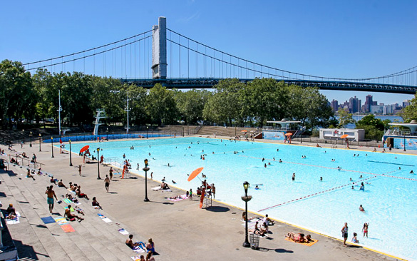 Astoria Park Swimming Pool Queens New York Flickr