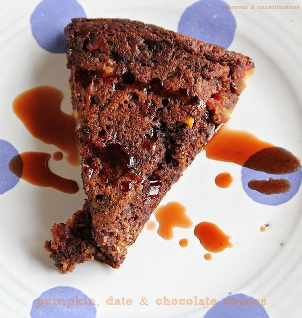 Pumpkin, Date & Chocolate Scones 4