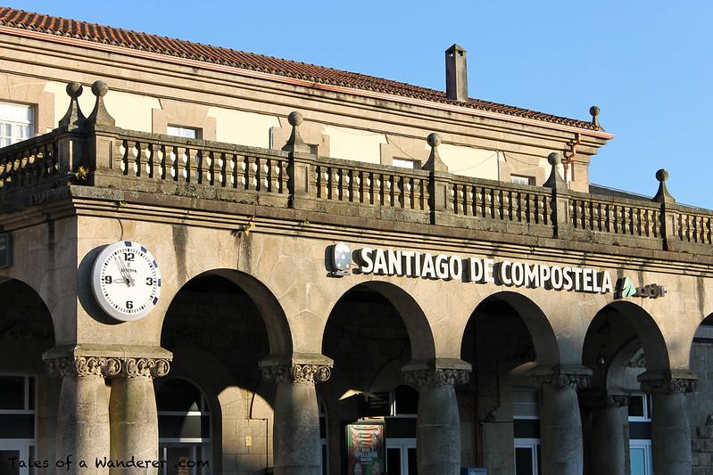 SANTIAGO DE COMPOSTELA - Estación de Santiago de Compostela