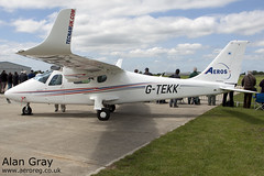 G-TEKK TECNAM P.2006T 064 PRIVATE - Sywell - 20130601 - Alan Gray - IMG_6447