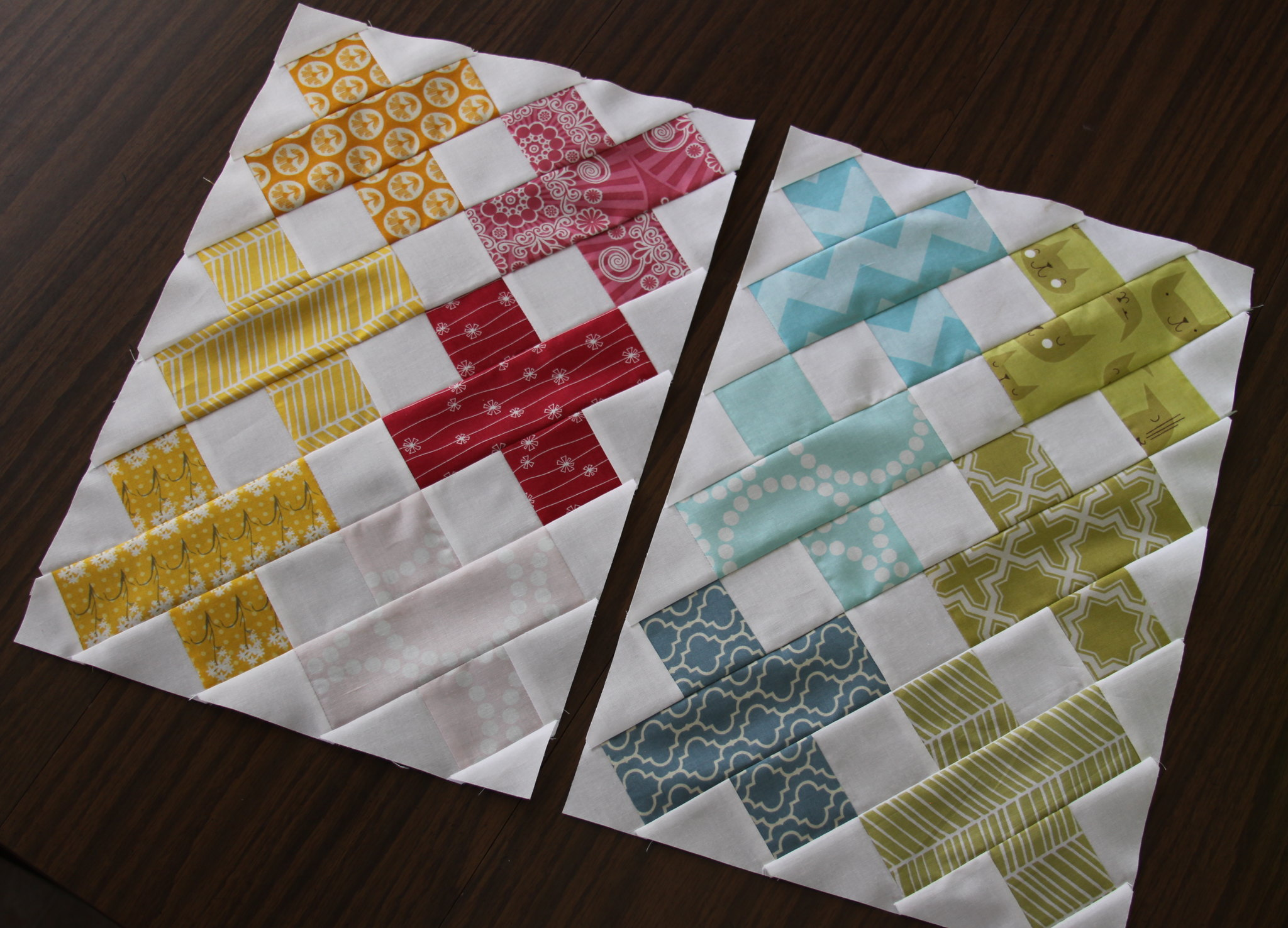 More initial blocks for the Roaming Quilt Bee