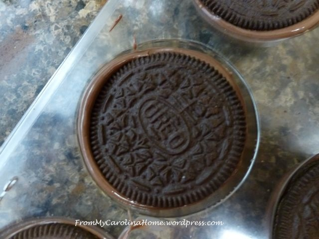 Chocolate Covered Oreos 6