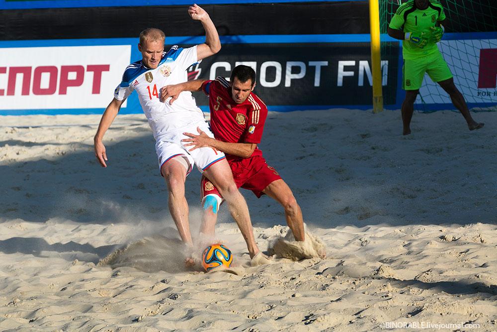 Euro Beach Soccer League in Moscow