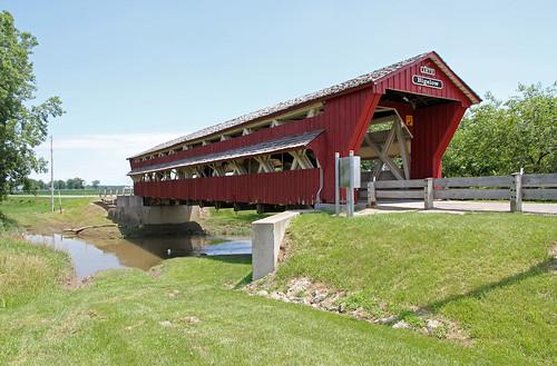 Bigelow Covered Bridge — Union Township, Union County, Ohio