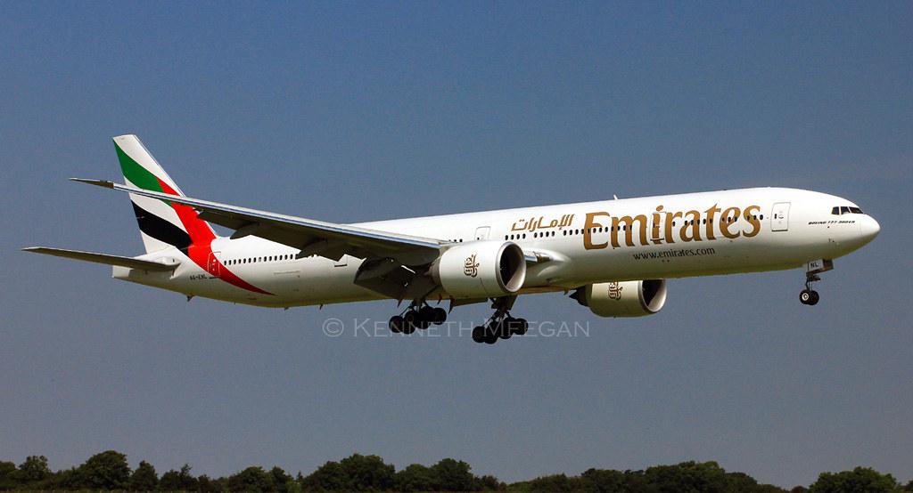 A6-ENL - B77W - Emirates