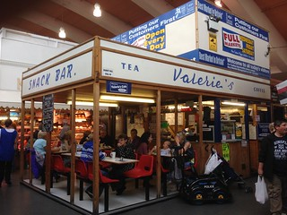 Valerie's Snack Bar, Bury Market