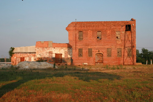 Old Building in Evening Light