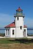 Alki Point Lighthouse, Seattle, Washington
