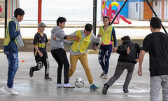 Charla de Futbol Col Miraflores