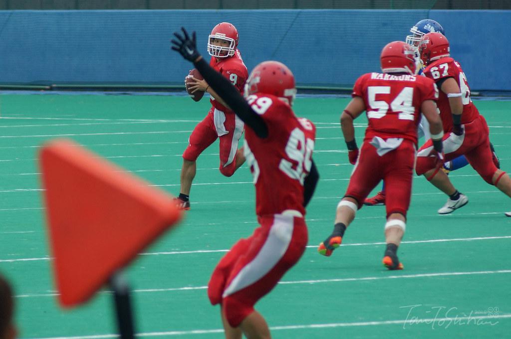 島根大ー山口大(中四国学生アメリカンフットボールリーグ 決勝トーナメント1回戦)