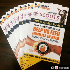 #ScoutsTrinidadAndTobago #MessengersOfPeace #FoodDistribution ==> #Repost @scoutstt ・・・ Scouting for Food Distribution takes place today. Walk with your Gift-a-Bag tickets to redeem at the following locations between 11:00am and 2:00pm  Boodram's Den (3rd