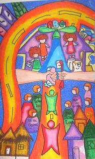 "One of the winning posters during the conducted ""My School Loo"" Citywide Contest"