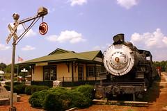 Lynnville, TN Depot Museum & Locomotive