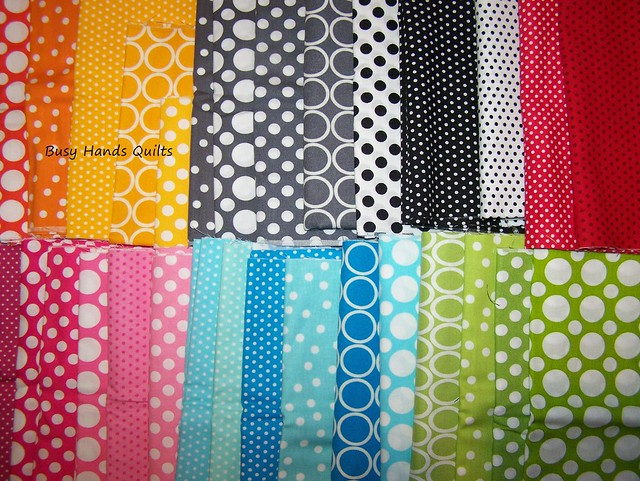 Bright Dot Fabric