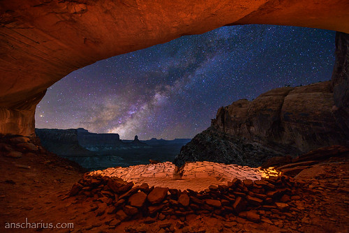 False Kiva & Milky Way