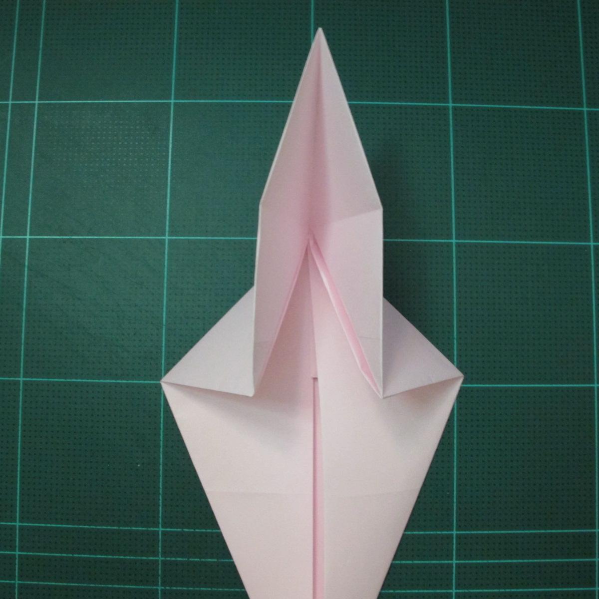 การพับกระดาษเป็นไดโนเสาร์ทีเร็กซ์ (Origami Tyrannosaurus Rex) 005