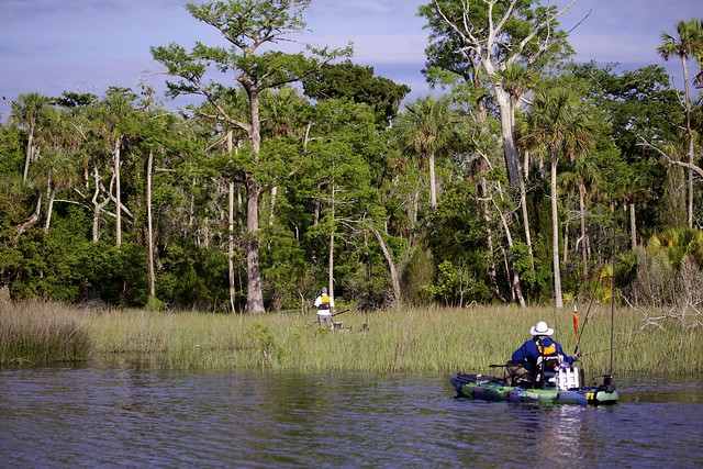 The kayak fishing show visits levy couty florida for Freshwater kayak fishing