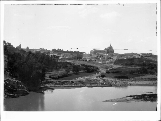 Huerta del Granadal y Playa de Safont a comienzos del siglo XX. Fotografía de J. Lacoste © MECD, Fototeca del IPCE, signatura VN-22688_P