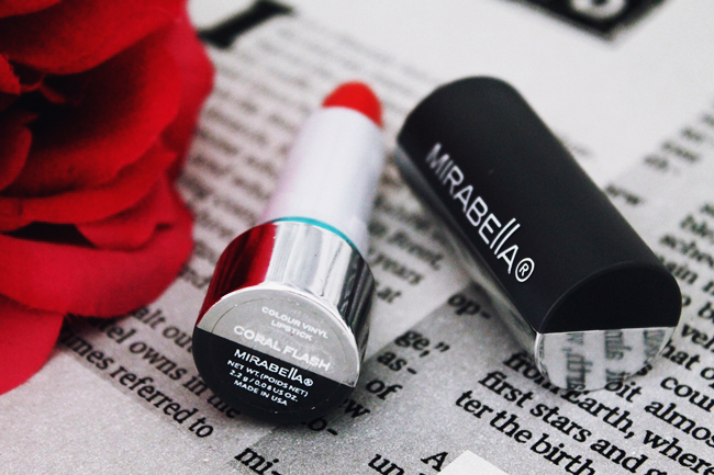 Review Mirabella Colour Vinyl Lipstick