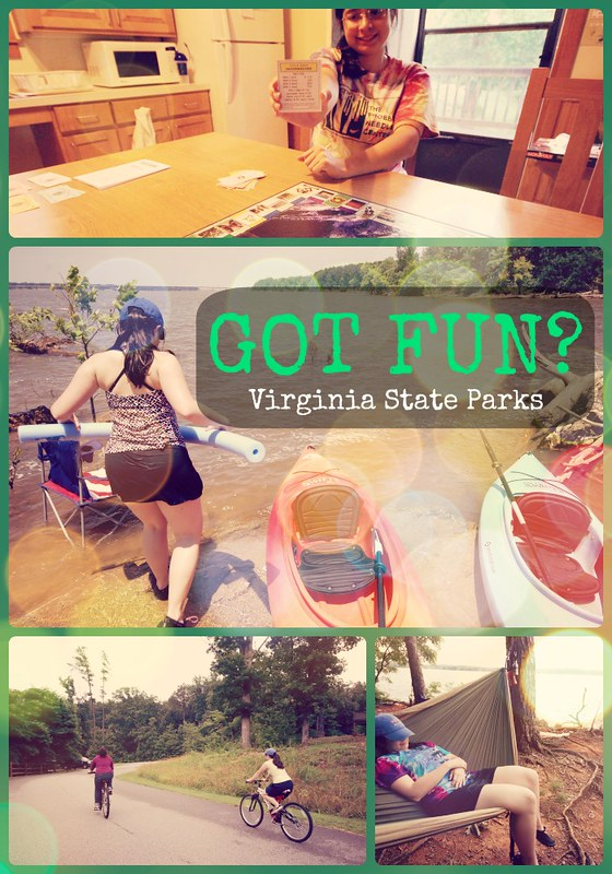 Summer fun at Virginia State Parks - these photos all taken at Occoneechee State Park