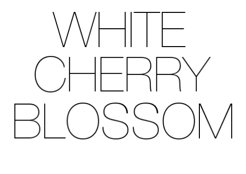 WHITECHERRYBLOSSOM