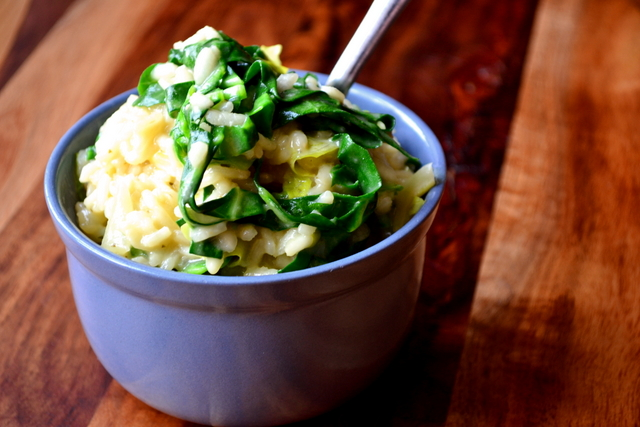 Spring Greens Risotto Recipe