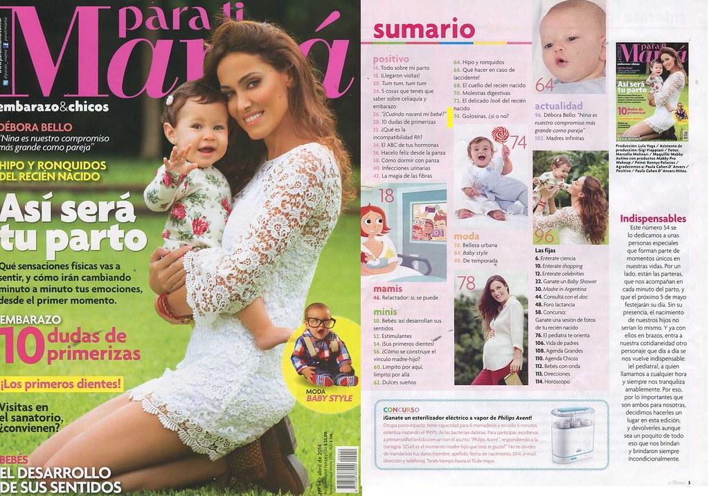 Revista Para Ti Mamá Abril 2014 (1)
