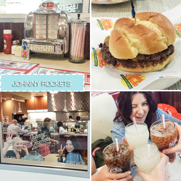 stylelab travel blog NYC food Johnny Rockets
