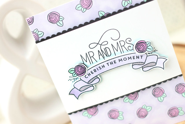 mr and mrs {mama elephant stamp highlight}