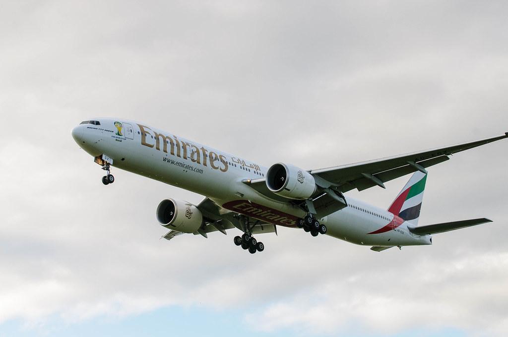 A6-EGX - B77W - Emirates