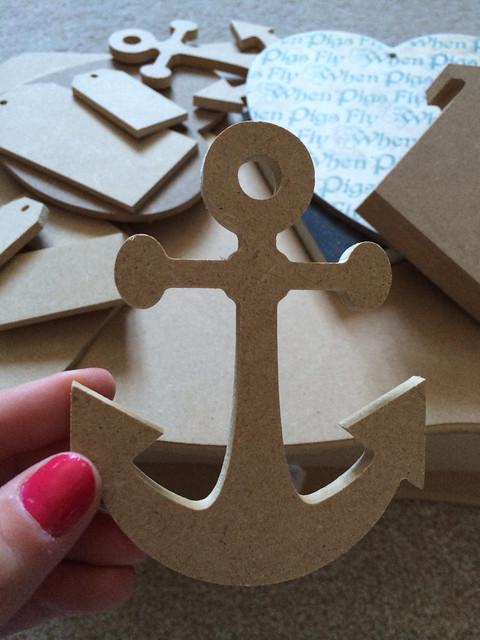MDF anchor