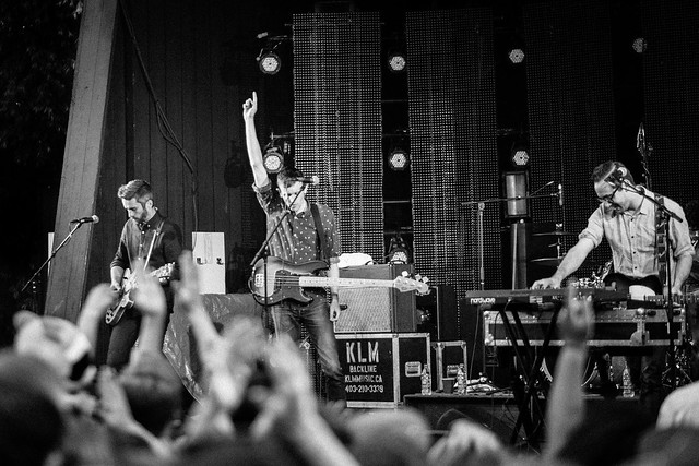 Tokyo Police Club, Live at the Stampede
