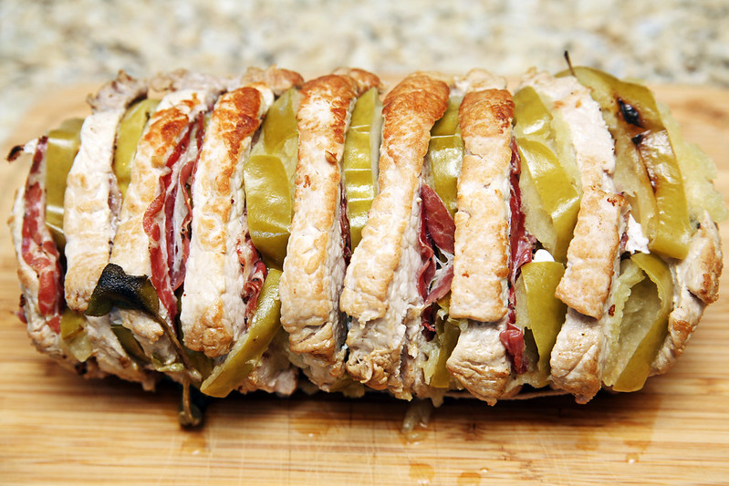 Hasselback Pork Roast