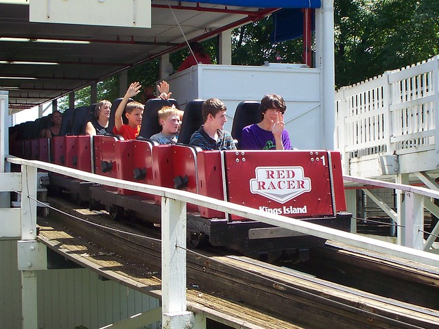 Kings Island - Red Racer
