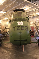 Front: Sikorsky UH-34D Seahorse